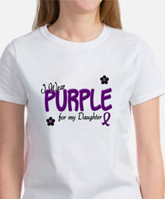 I Wear Purple For My Daughter 14 Tee