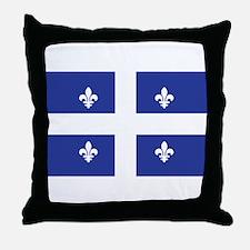 QUEBEC Throw Pillow