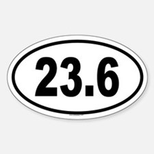 23.6 Oval Decal
