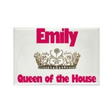 Emily - Queen of the House Rectangle Magnet