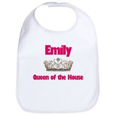 Emily - Queen of the House Bib