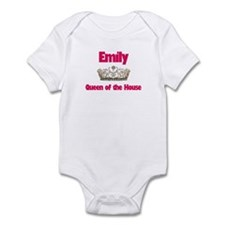 Emily - Queen of the House Infant Bodysuit