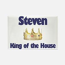 Steven - King of the House Rectangle Magnet