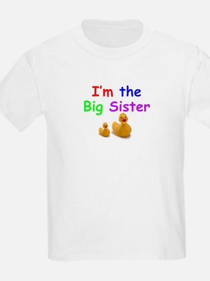 """I'm the Big Sister"" Kid's T-Shirt"