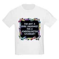 kindergarten student back to school T-Shirt