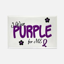 I Wear Purple For ME 14 Rectangle Magnet