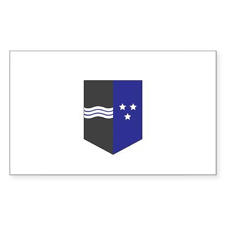 AARGAU CANTON Rectangle Sticker
