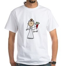 Stick Figure Bride Shirt