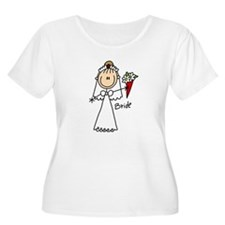 Stick Figure Bride T-Shirt