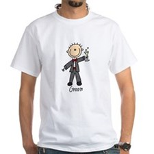 Stick Figure Groom Shirt