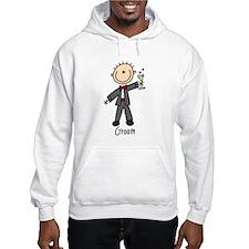 Stick Figure Groom Hoodie