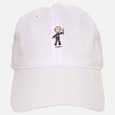 Stick Figure Groom Cap