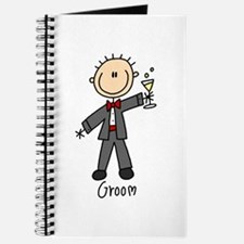 Stick Figure Groom Journal
