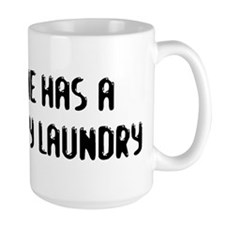 """Dirty Laundry"" Mug"
