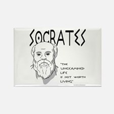 Socrates Rectangle Magnet