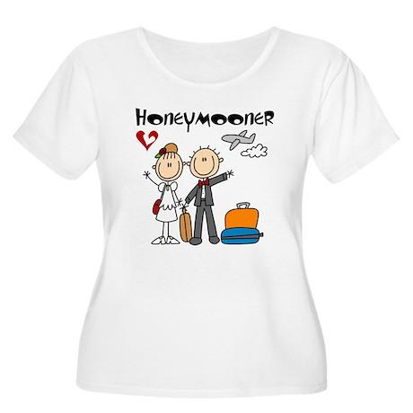 Stick Figures Women's Plus Size Scoop Neck T-Shirt
