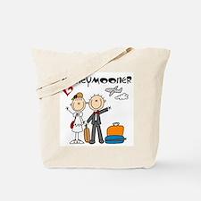 Stick Figures Honeymooner Tote Bag