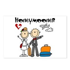 Stick Figure Honeymooner Postcards (Package of 8)