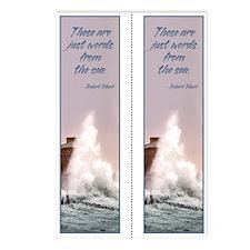 Sea Words Double bookmark (8 pak)