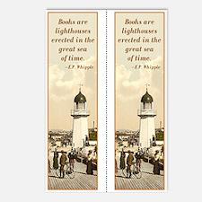 Lighthouse Double bookmark (8 pak)