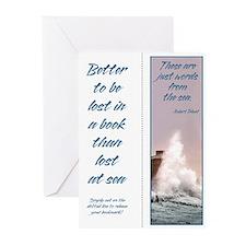 Sea Words Bookmark Cards (10 pak)