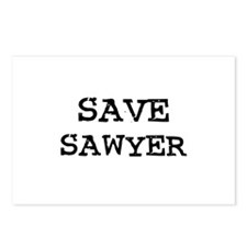 Save Sawyer Postcards (Package of 8)