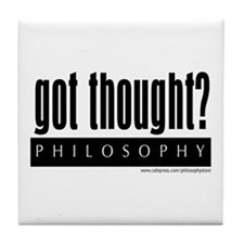 Got Thought? Tile Coaster