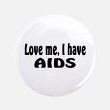 """AIDS 3.5"""" Button (100 pack)"""