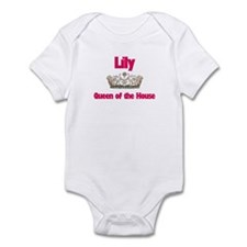 Lily - Queen of the House Infant Bodysuit