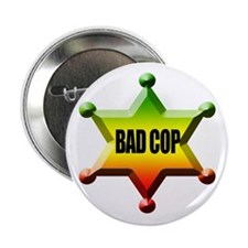 "Bad Cop Rasta 2.25"" Button"