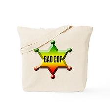 Bad Cop Good Cop Rasta Tote Bag