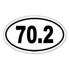 70.2 Oval Decal
