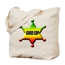 Good Cop Bad Cop Rasta Tote Bag