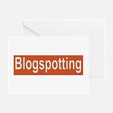 blogspotting Greeting Card