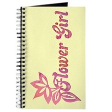 Foliate Flower Girl Journal