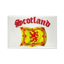 Scotland Rampart Lion Flag Rectangle Magnet