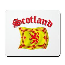 Scotland Rampart Lion Flag Mousepad