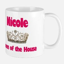 Nicole - Queen of the House Mug