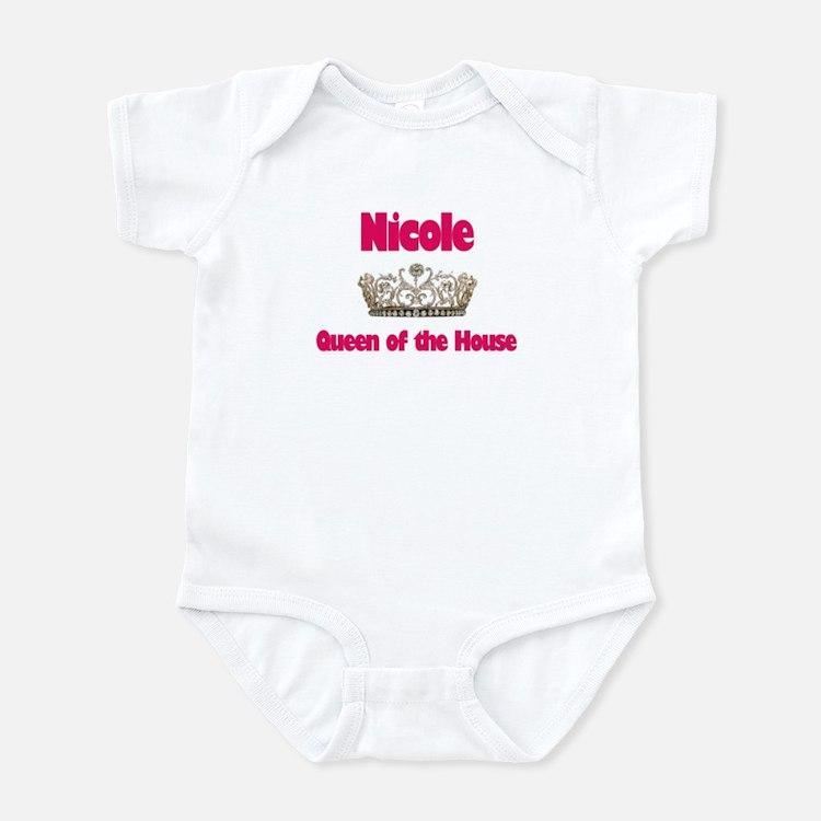 Nicole - Queen of the House Infant Bodysuit