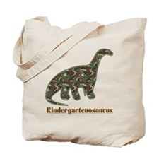 Kid Dinosaur Tote Bag