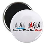 Runnin' With the Devil Magnet