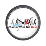 Runnin' With the Devil Wall Clock