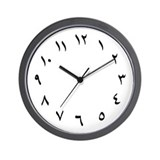 Arabic numerals clock Basic Clocks