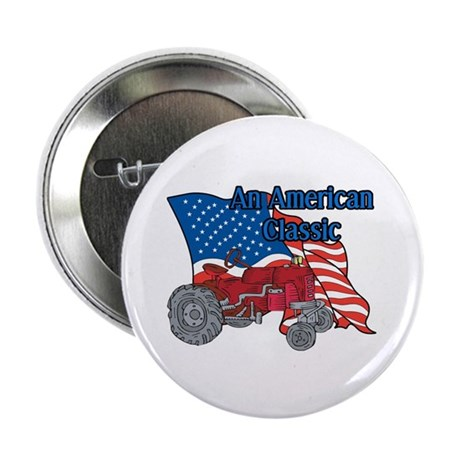 "American Classic Tractor 2.25"" Button"