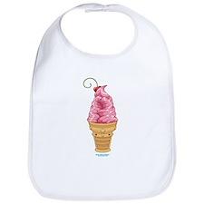 Kawaii Cherry Ice Cream Bib