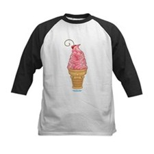 Kawaii Strawberry Ice Cream Tee
