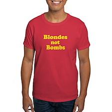 Blondes Not Bombs T-Shirt