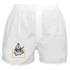 Qajar Tar-player Boxer Shorts