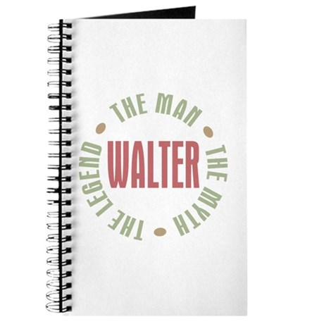 Walter Man Myth Legend Journal