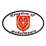 Aethelmearc Oval Sticker (10 pk)